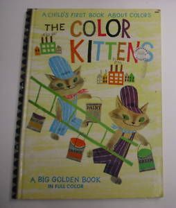 Color Kittens Big Golden Book B Edition