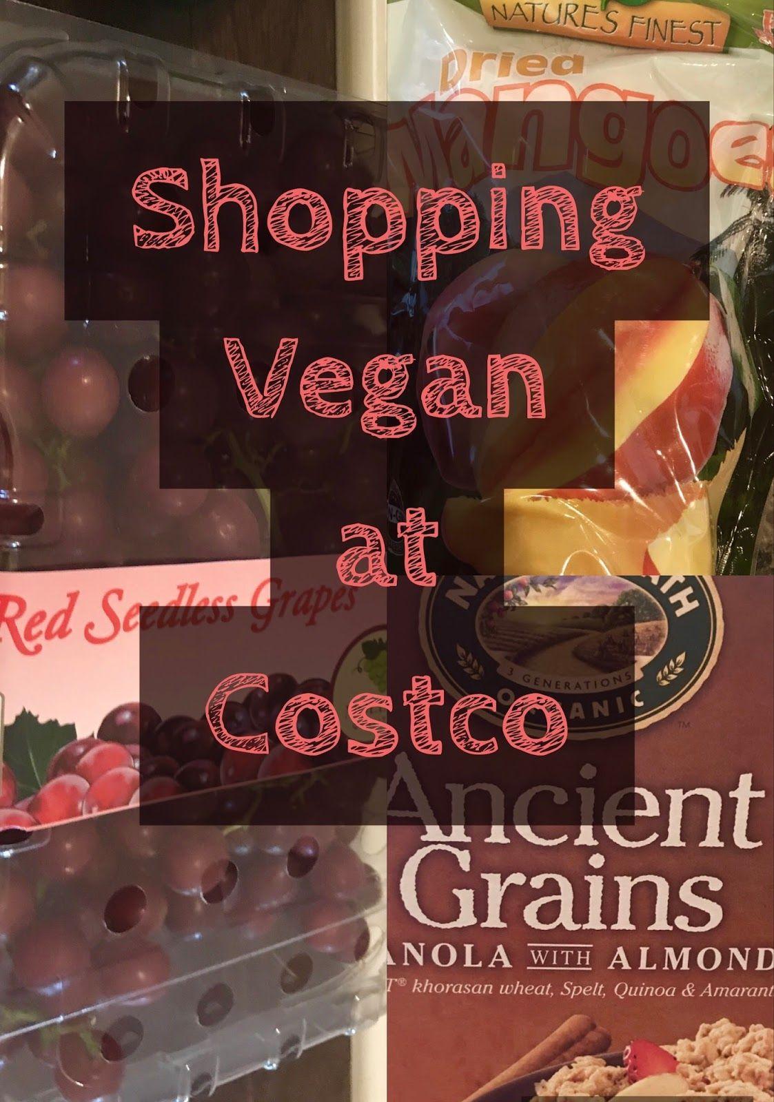 Shopping Vegan at Costco Vegan nutrition, Vegan costco