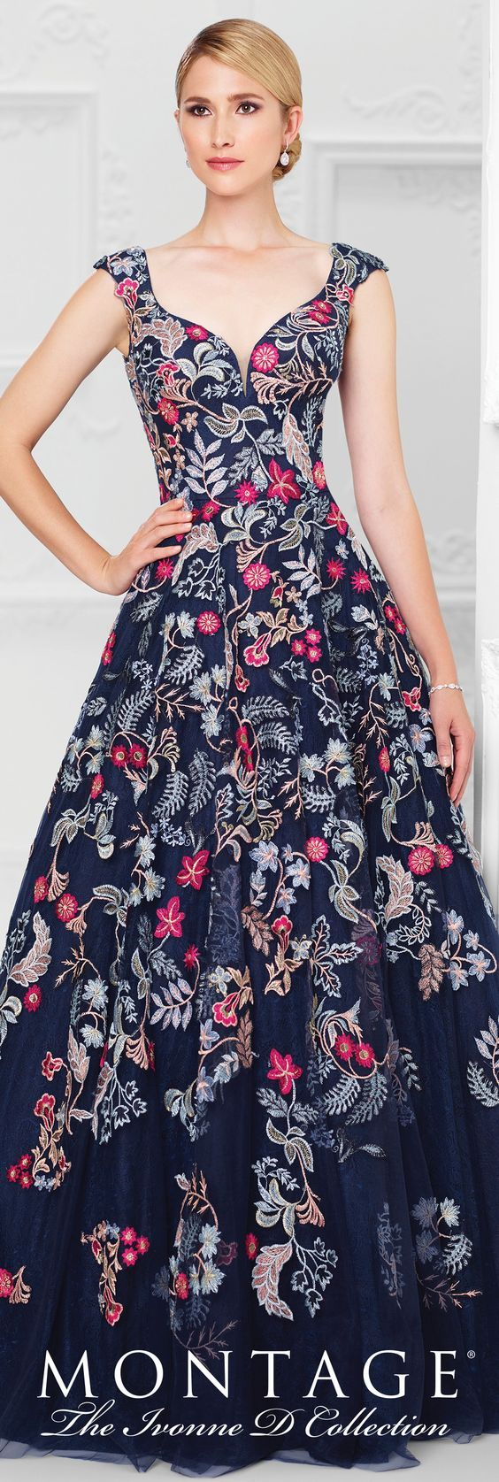 Ivonne D - Evening Dresses - 117D76   Vestiditos, Vestidos de fiesta ...