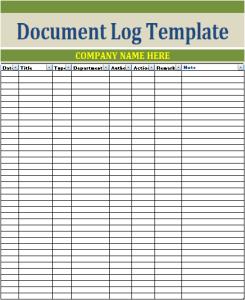 Document Log Template Printable Password Tracker Templates Printable Free Templates