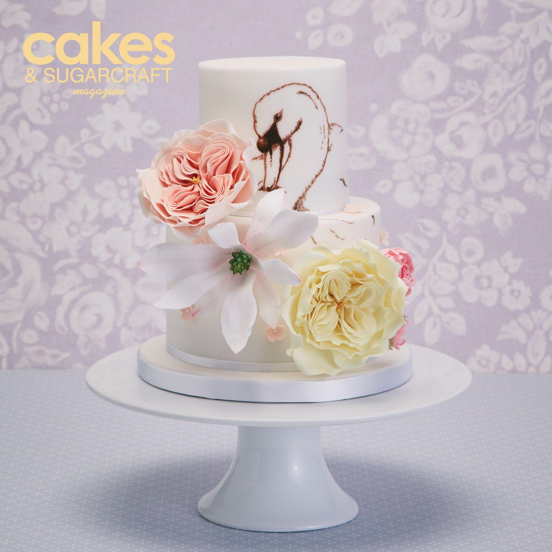 Illustrated cake kari herer inspired cake design edible