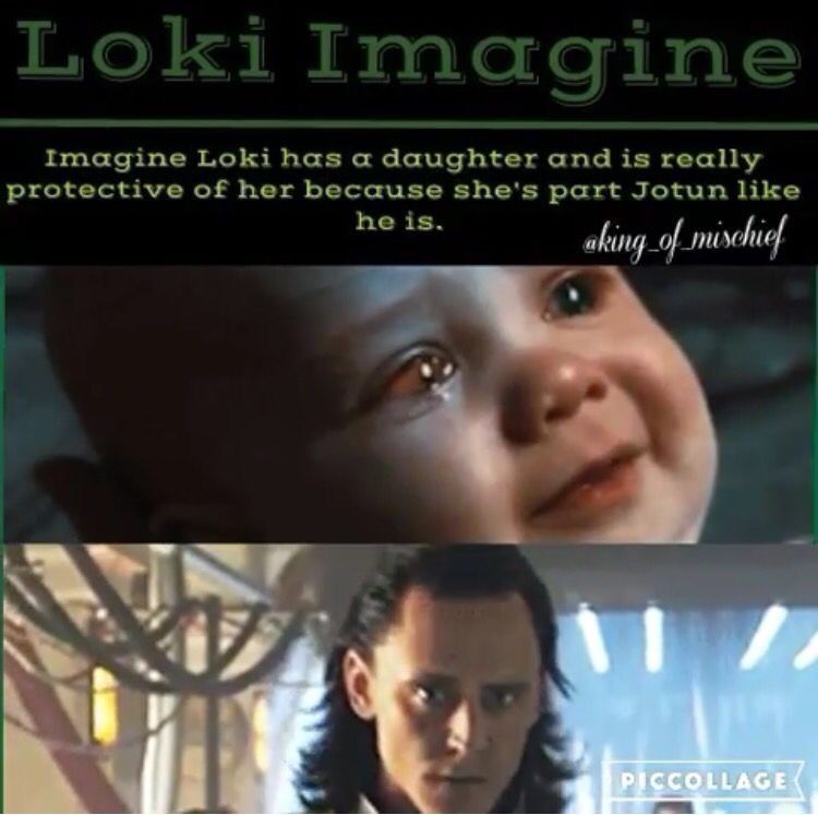 I'm actually writing a story on that  | Daughter of Loki | Loki