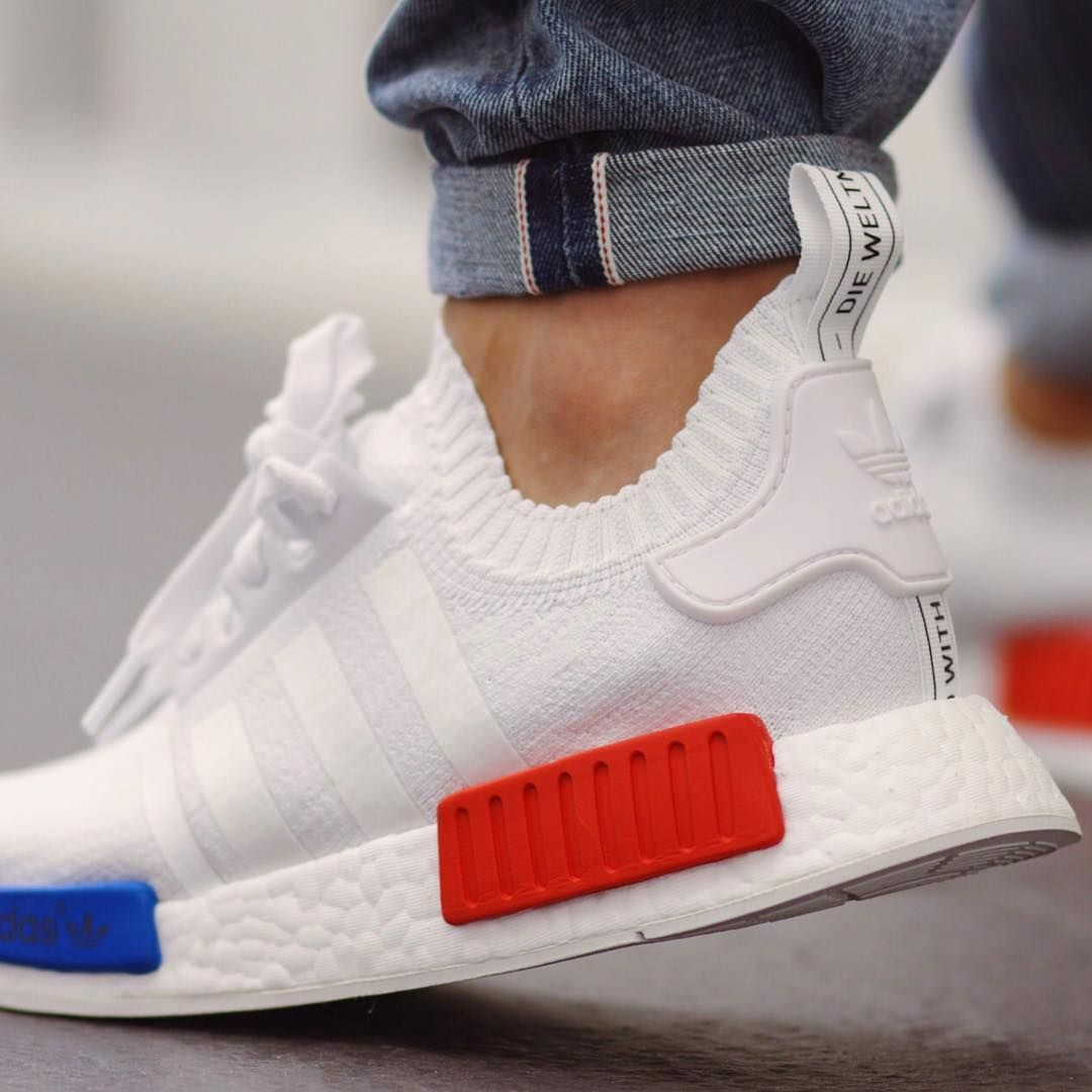 Adidas Nmd Primeknit All White