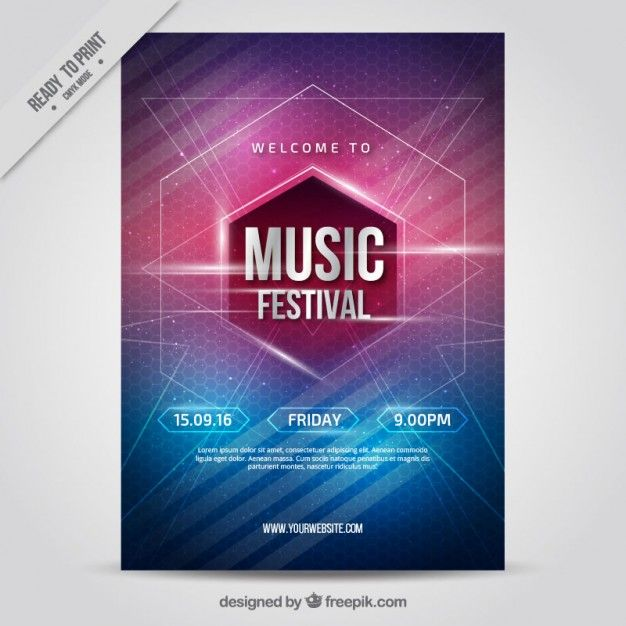 download interesting music party poster