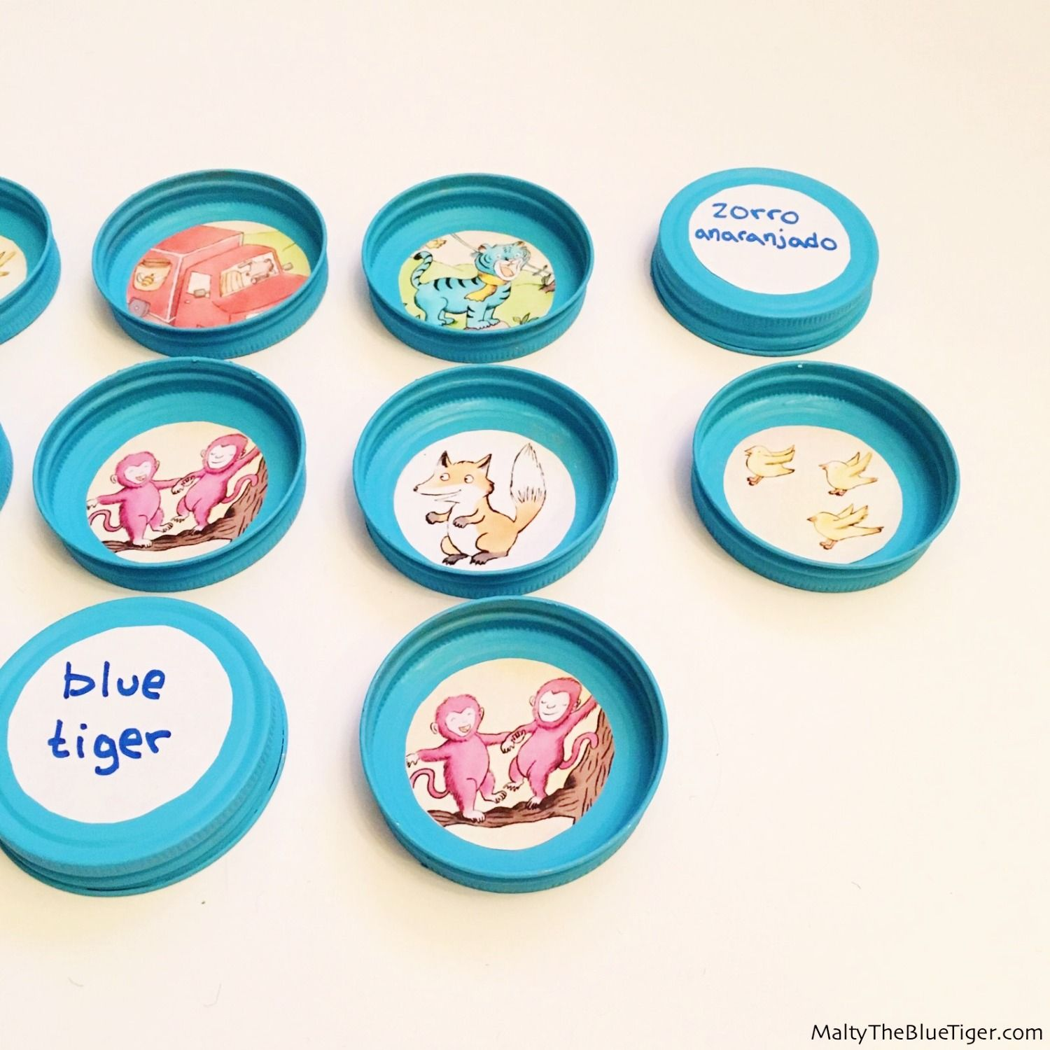 This Fun Memory Game For Kids Also Teaches Vocabulary