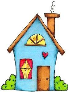 Hausbau clipart  ✿*CREA CON CASITAS *✿* | детский сад | Pinterest | Mein haus und ...