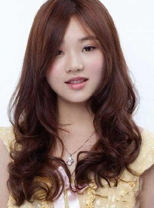 25 Asian Hairstyles For Round Faces Haarschnitt Rundes Gesicht
