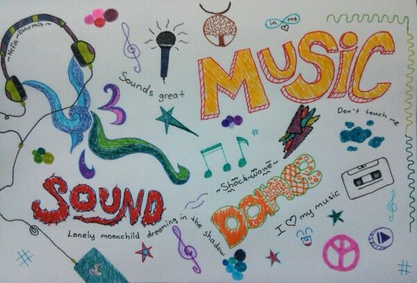 İ just think about music and...
