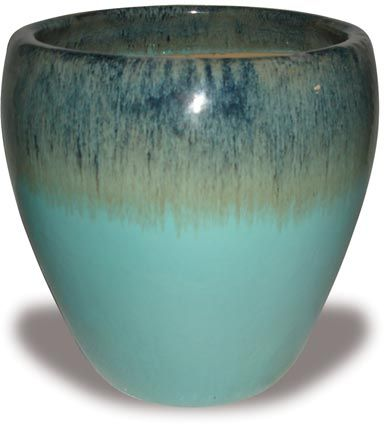 Wholesale Pottery Flower Pots Outdoor Glazed Pots OH