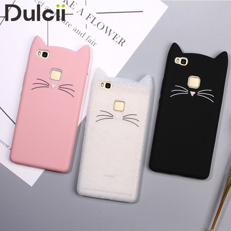 Click to Buy << For Huawei P9 Lite / G9 Lite Silicone Cases Cute ...