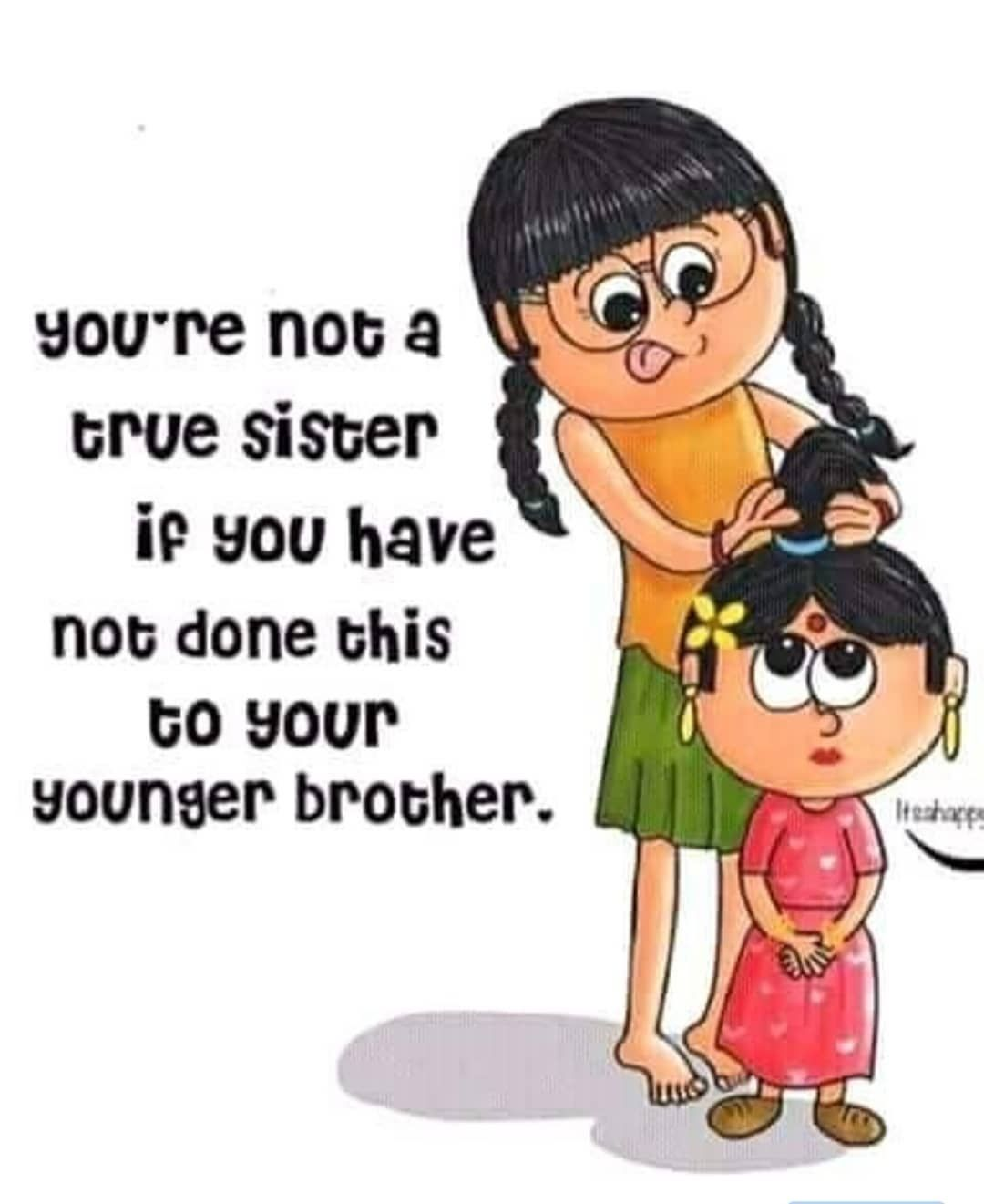 Brother Sister Funny Quotes : brother, sister, funny, quotes, Funny, Quotes, Little, Brother, Manny, Quote