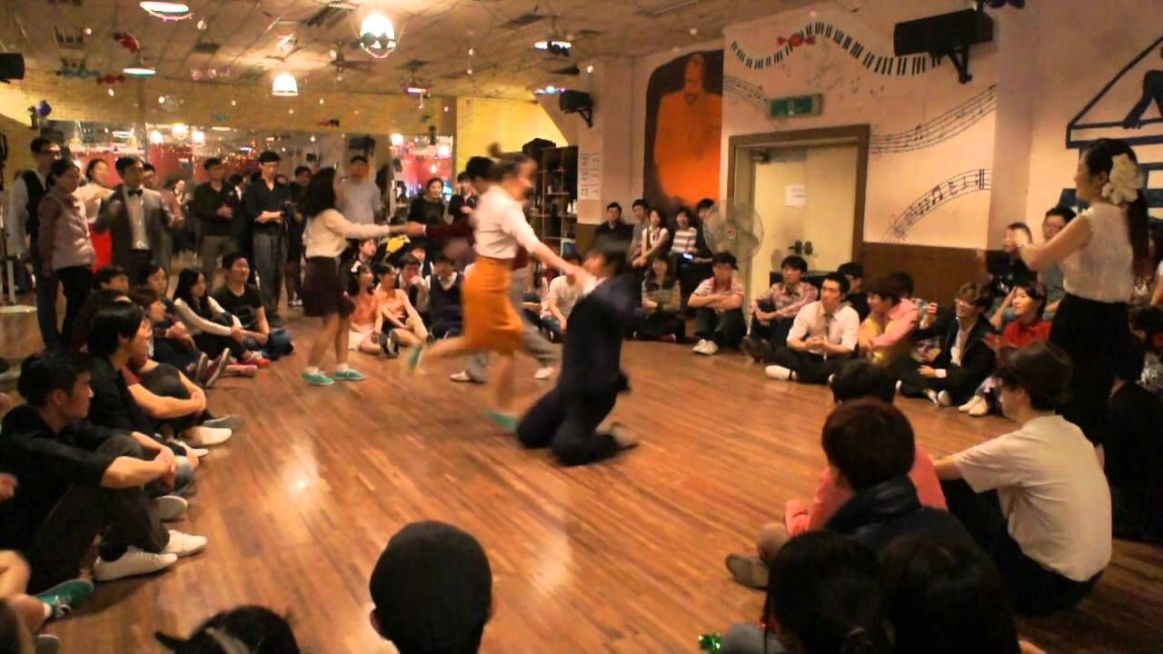 Crazy Leg 1st - Jack & Jill - LindyHop Open - Semi Final - View1