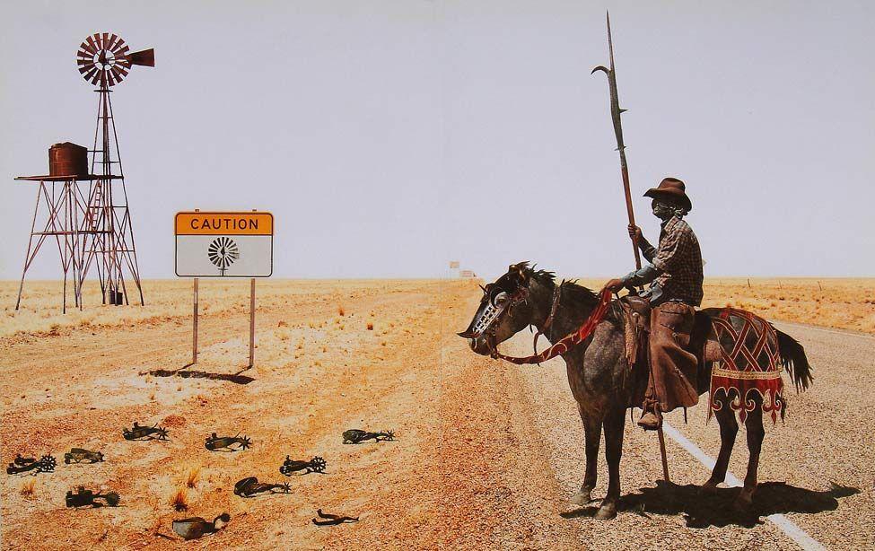 Don Quixote by Javier Pinon | Piñones, Don quijote, Collage