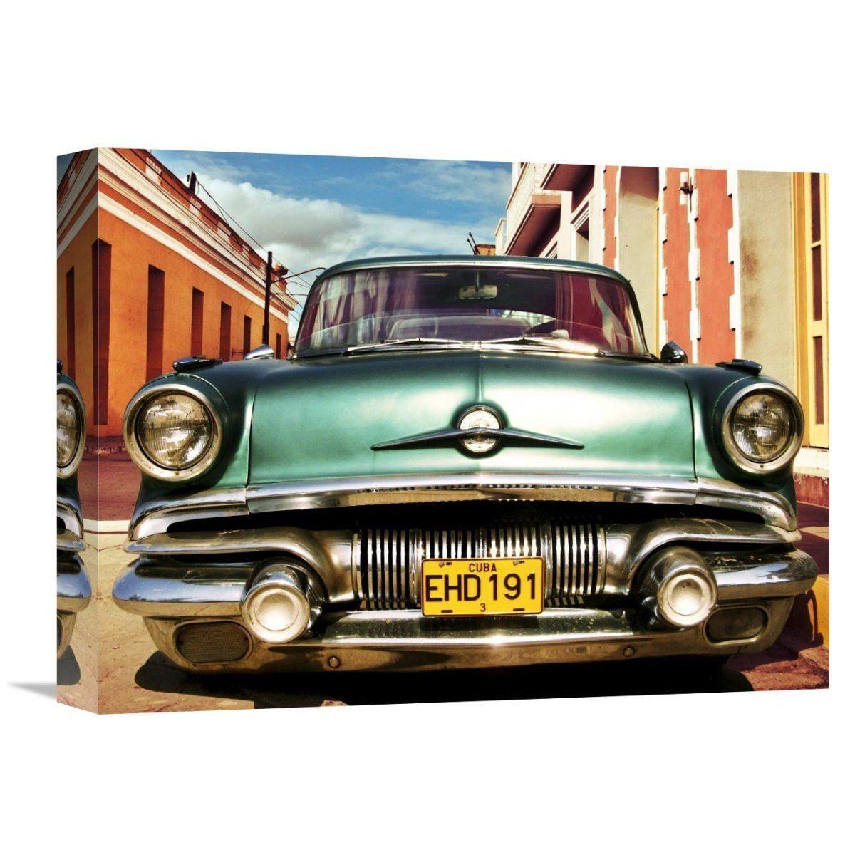 Global Gallery Gasoline Images \'Vintage American Car in Habana, Cuba ...