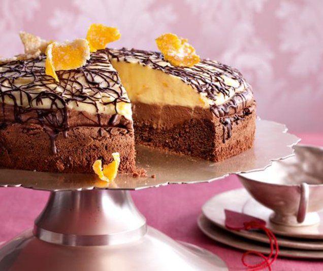schoko orangen torte recipe vitamin pinterest kuchen chocolate cake and birthday cakes. Black Bedroom Furniture Sets. Home Design Ideas