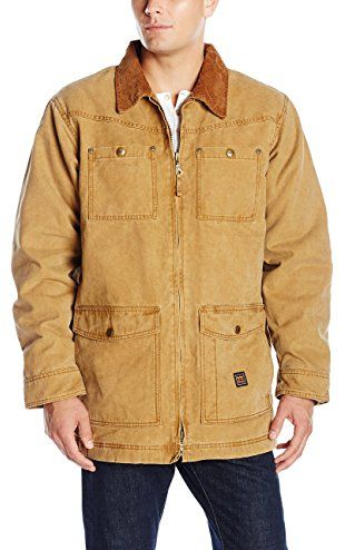 Walls Men S Redford Vintage Duck Barn Coat Washed Pecan 2x