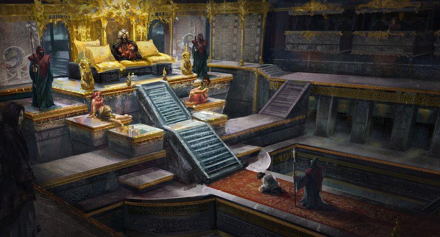 Rooms: Throne Room By Lafemmedart218 On DeviantART