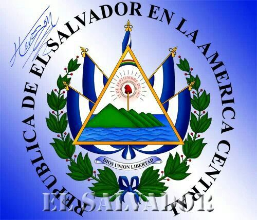 Escudo Del El Salvador Wall Tattoos