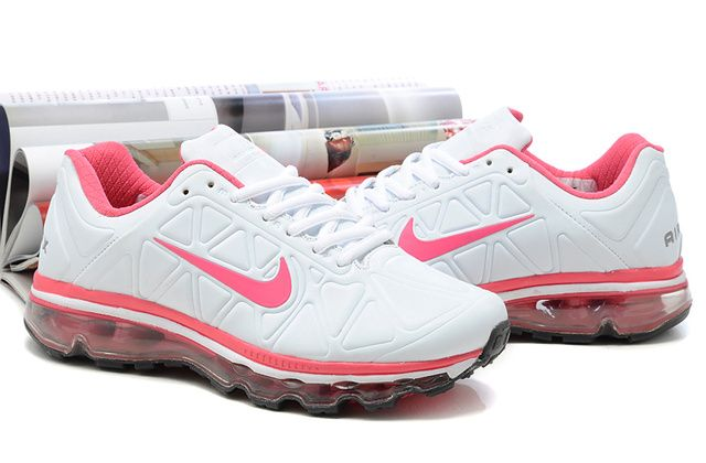 outlet for sale latest new photos Air Max 2009 Nike Shoes Womens White Pink | Air max 2009, Nike ...