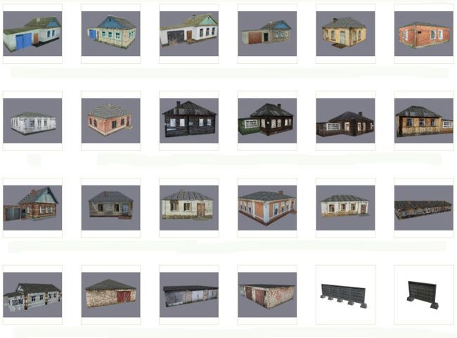 Lots Of Building Paper Models For Diorama Free Templates Download Paper Models Free Paper Models Papercraft Download