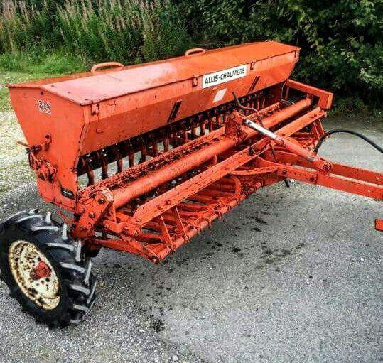 Allis Chalmers 214 Grain Drill Old Farm Equipment Farm