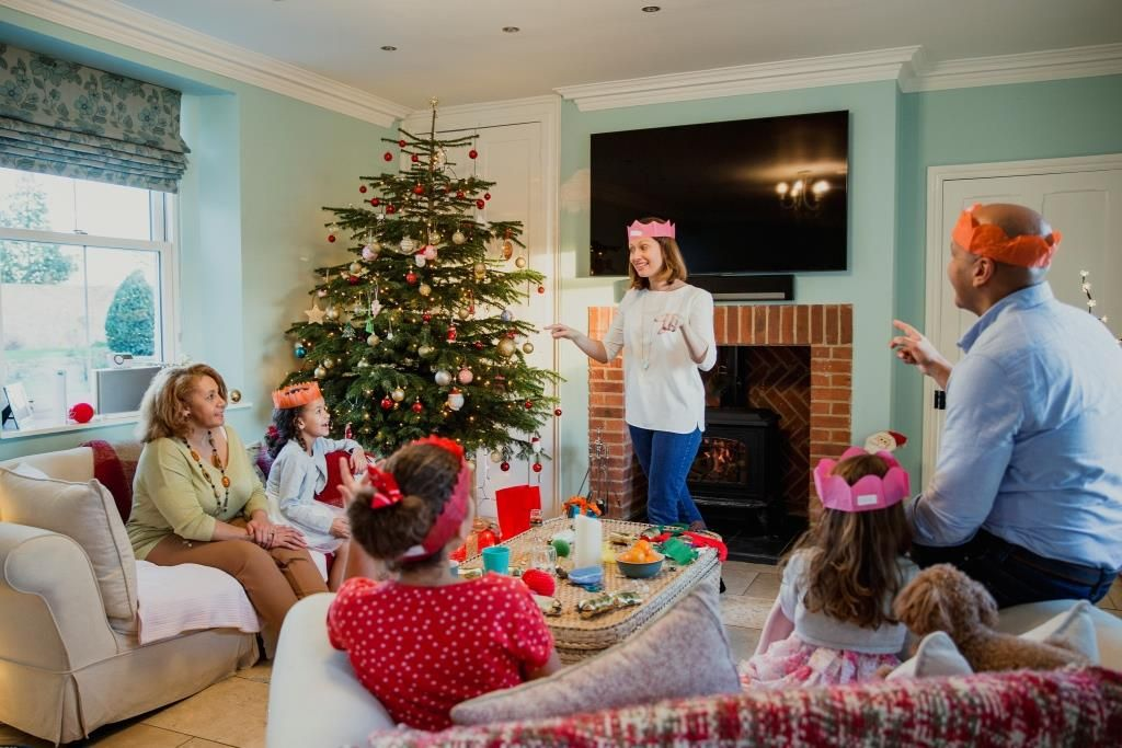 Weihnachtsspiele Familie