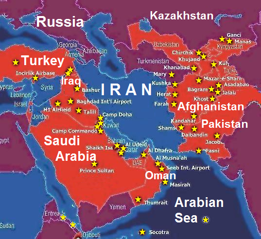 Military Bases across the World Bing Images Iran 351