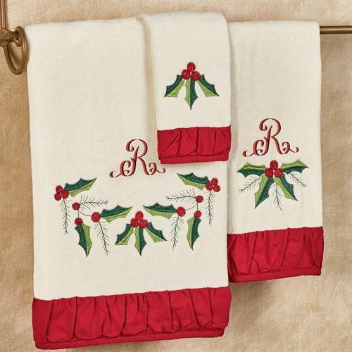 Christmas Towels Bathroom Set Juego De Toalla De Mano De Navidad Christmas Gift