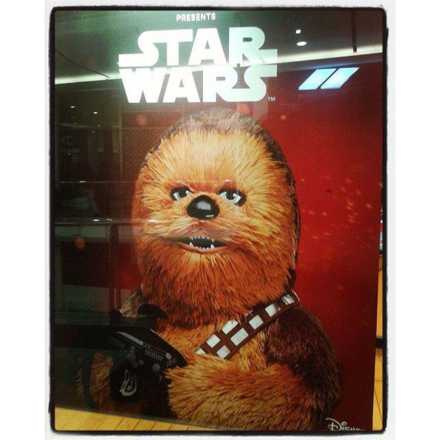 #StarWars #Chewbacca #BuildABearWorkshop #Disney #TheForceAwakens #MayTheForceBeWithYou