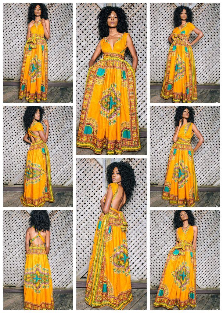 Dashki Fabric African Fashion Ankara Kitenge African: Infinity Dashiki Dress ~African Fashion, Ankara, Kitenge