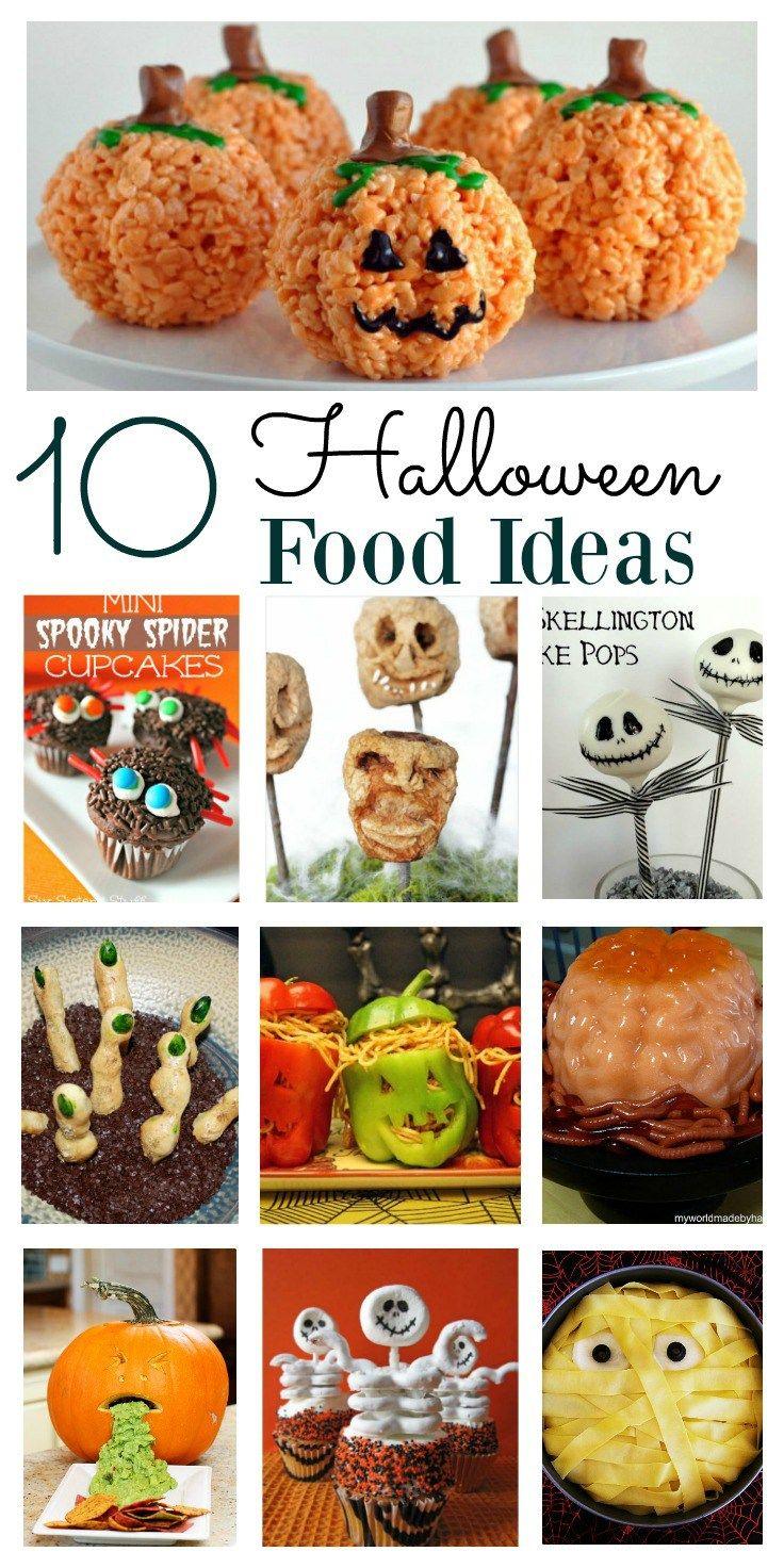 Halloween Food Ideas Halloween Scary food, Easy
