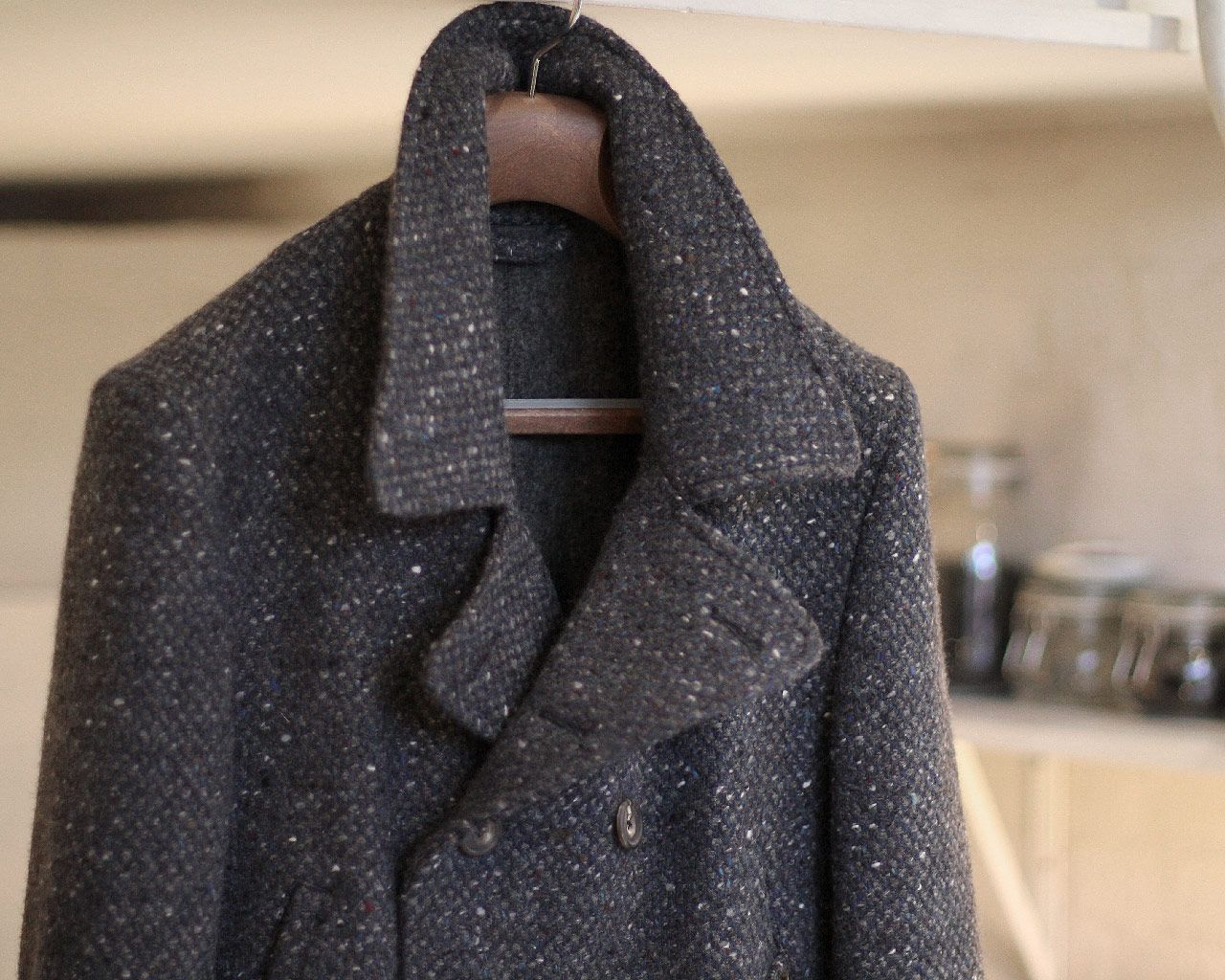Donegal Tweed Peacoat | clothing | Pinterest | Donegal, Tweed and ...