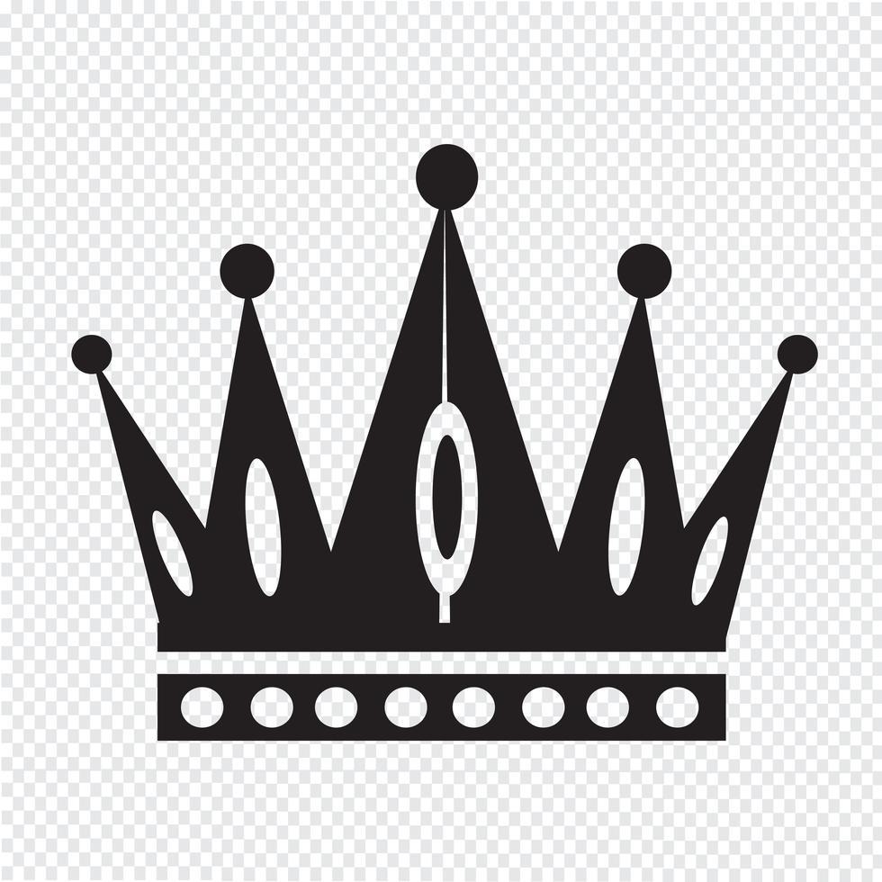 Crown Icon Symbol Sign Free Vector Illustration Symbols Powerpoint Design Templates