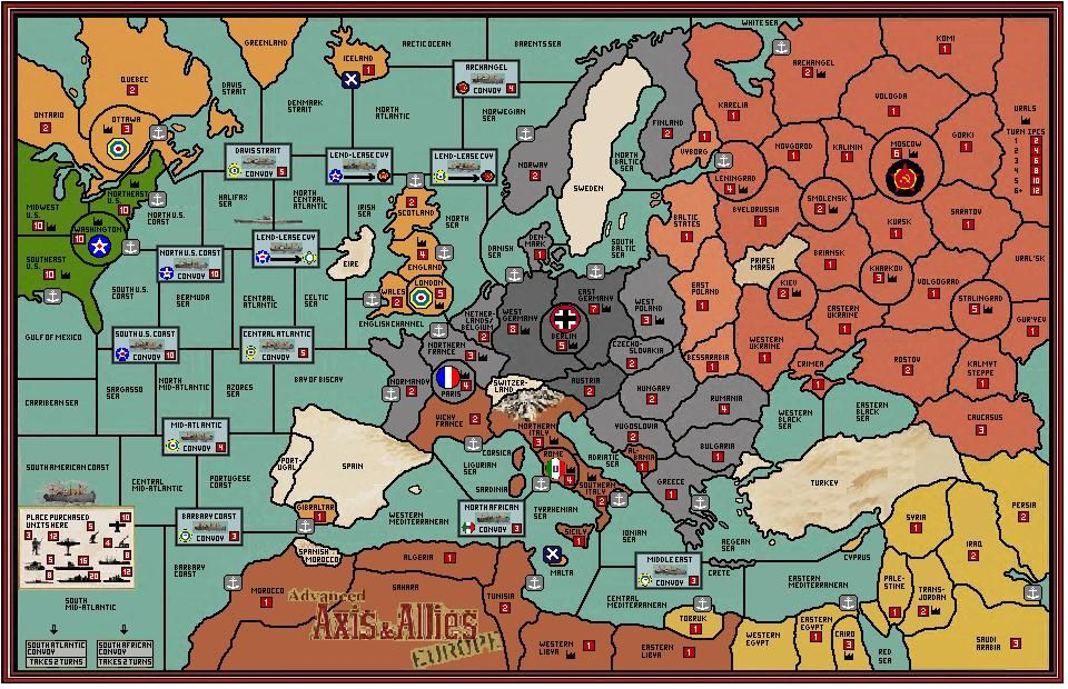 Axis and Allies Map Downloads Axis & Allies Forums