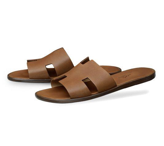 982bd6751c78 Hermes men s sandal in calfskin