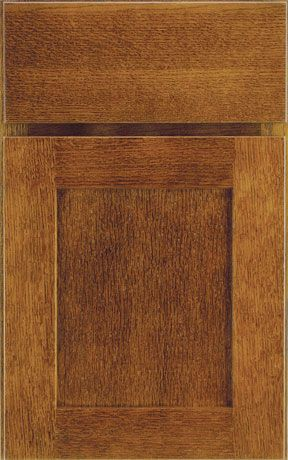 Medallion Quarter Sawn Oak Park Chestnut. Lowes Kitchen CabinetsBath ...