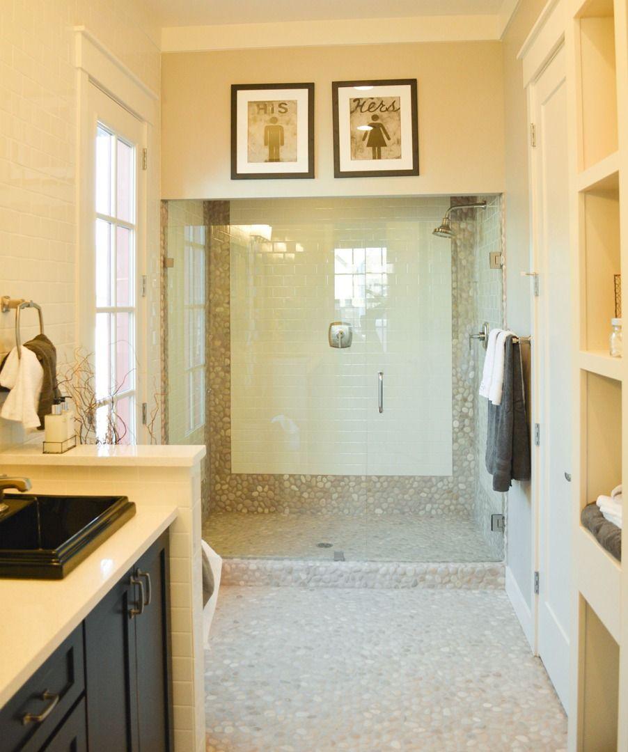 Contemporary shower design