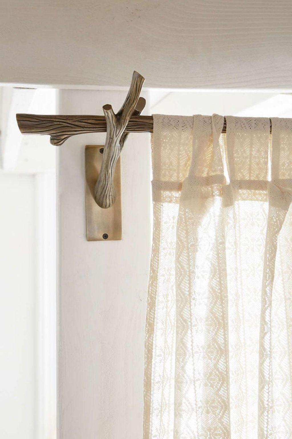 Rustic Style Curtain Rods Desain Furnitur Interior Interior Rumah