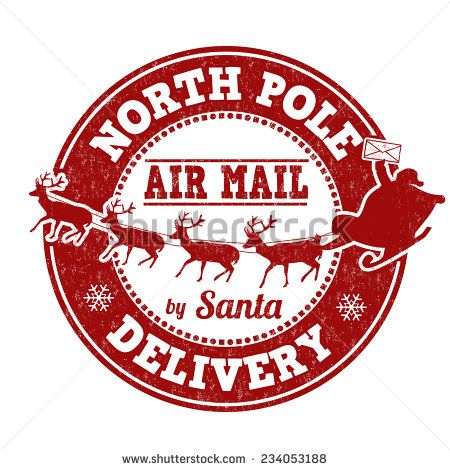 graphic regarding Free Printable North Pole Special Delivery Printable referred to as Graphic consequence for Free of charge printable North Pole Exclusive Shipping