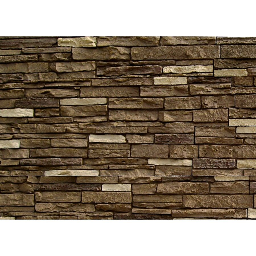 Half Log Siding Lowes Trendy Stunning Exterior Design With Genstone Panels Stacked Stone Veneer