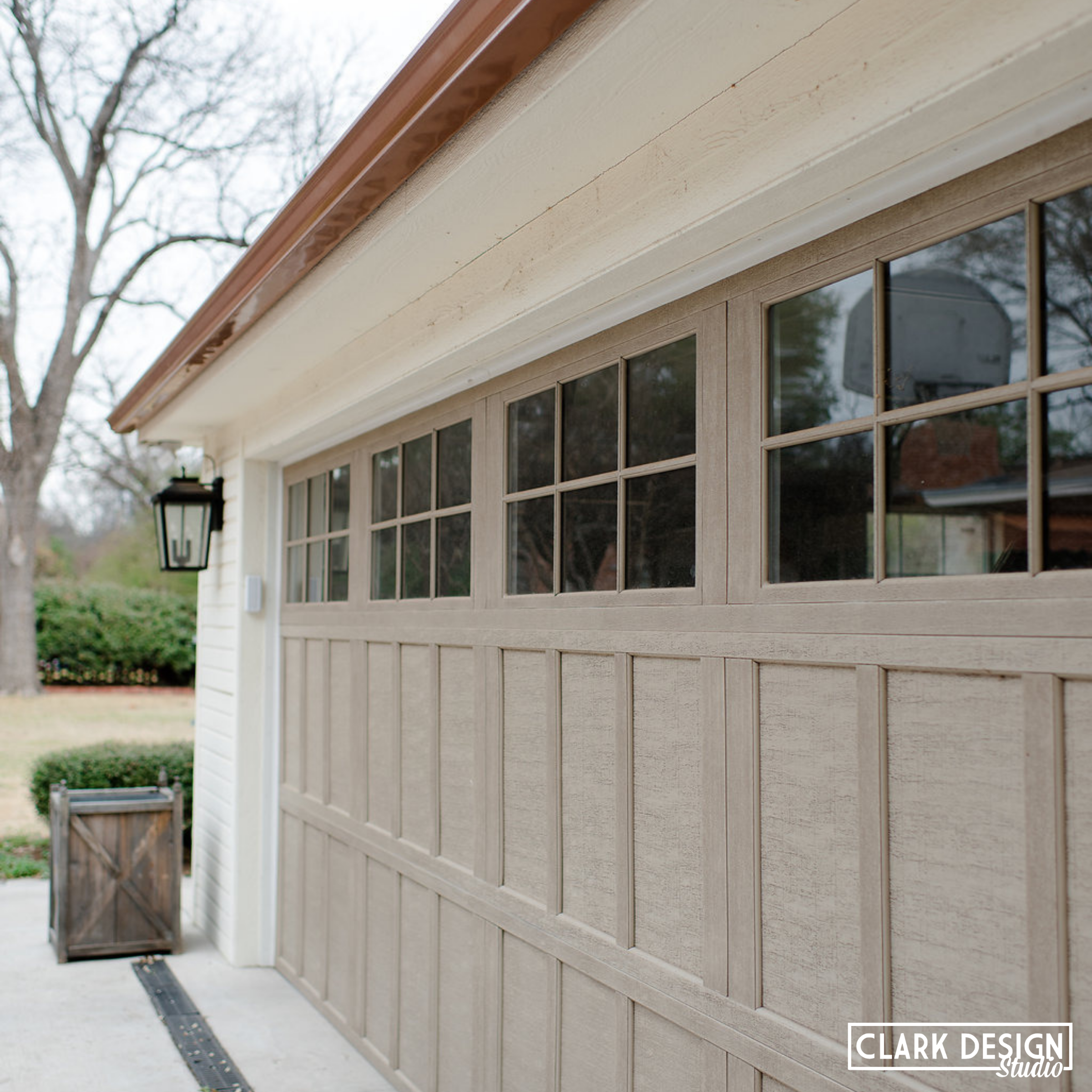With This Crazy Spring Weather Wouldn T A Garage Be Nice We Can Do That For You Clarkdesigna Exterior House Colors Exterior Design House Exterior