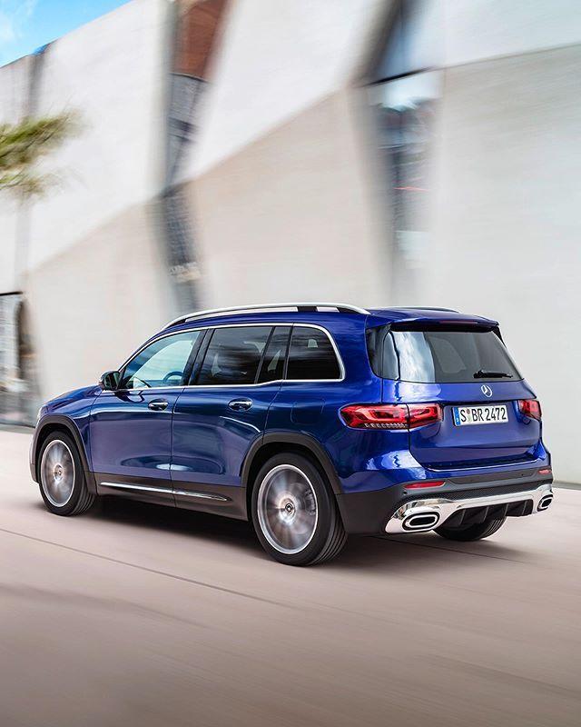 The New 2020 Mercedes-Benz GLB @caranddriver On Instagram