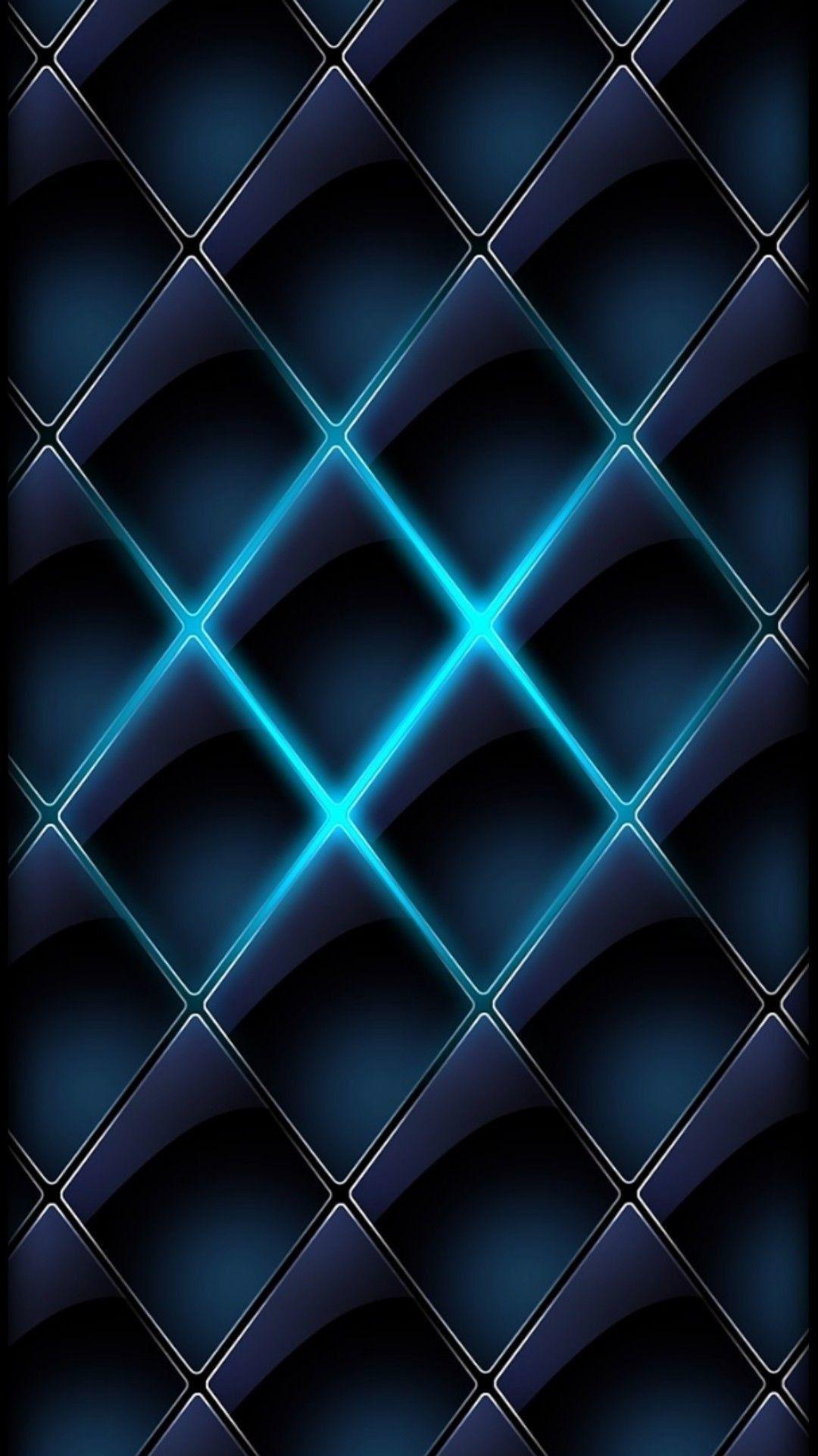 Black Neon Wallpaper Abstract