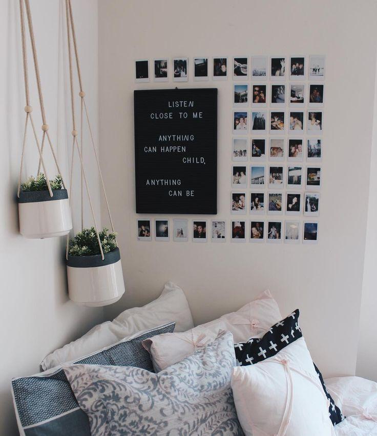 Dekorieren von Wänden in Schlafsälen - Ideen für temporäre Verkleidungen