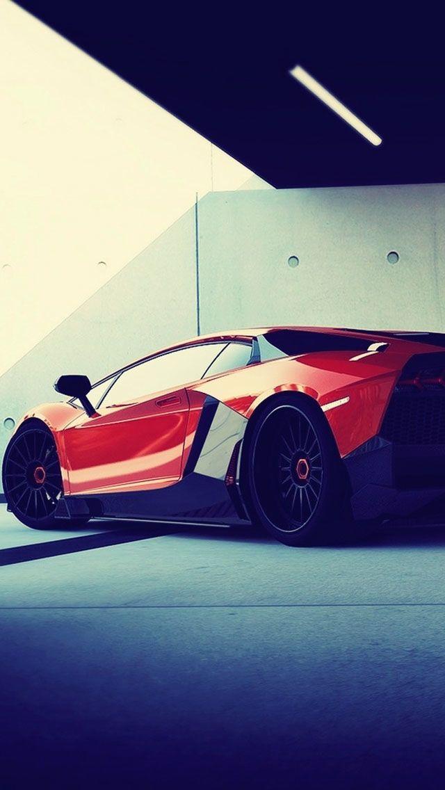 Lamborghini Aventador Orange and black