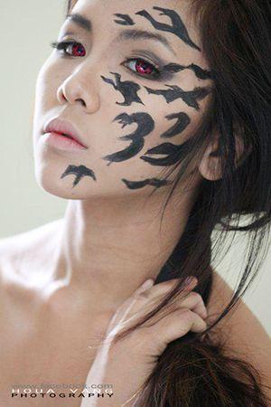 Curse Mark Makeup Sasuke Uchiha Naruto Mark Makeup Face Painting Halloween Makeup