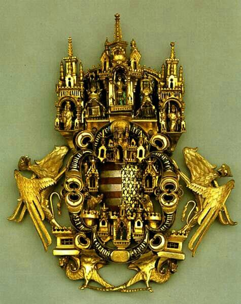 Golden Cloak Clasp, Hungarian Chapel at Cathedral of Aachen