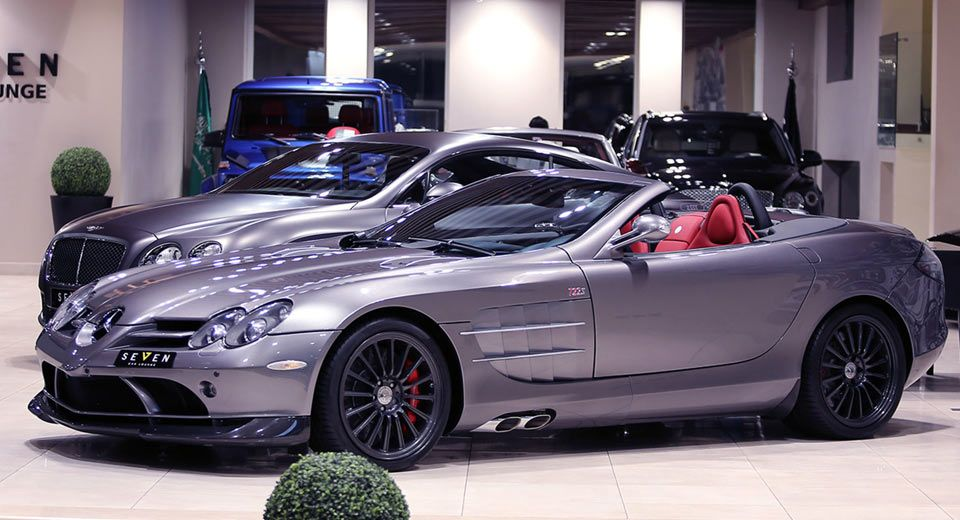 This Rare Mercedes Slr 722 S Roadster Needs A New Home With
