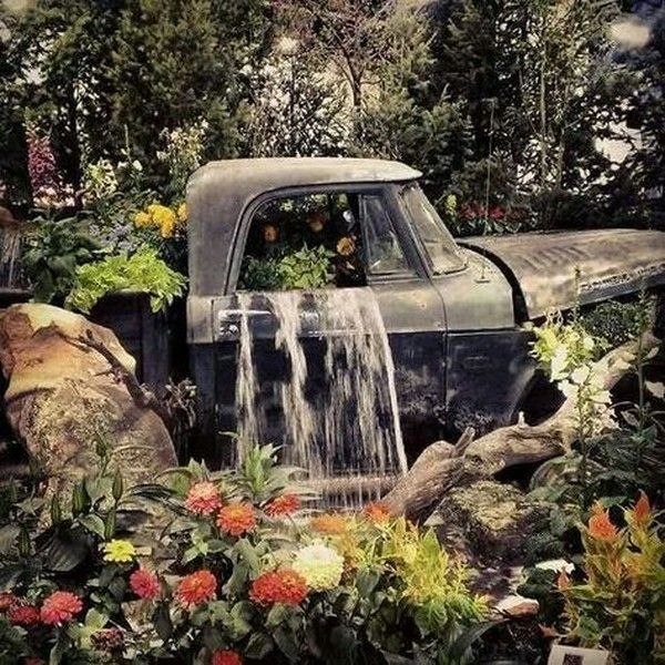 57 Amazing Beautiful Garden Ideas Inspiration And: 6 Wildly Clever Ways To Repurpose Vintage Trucks