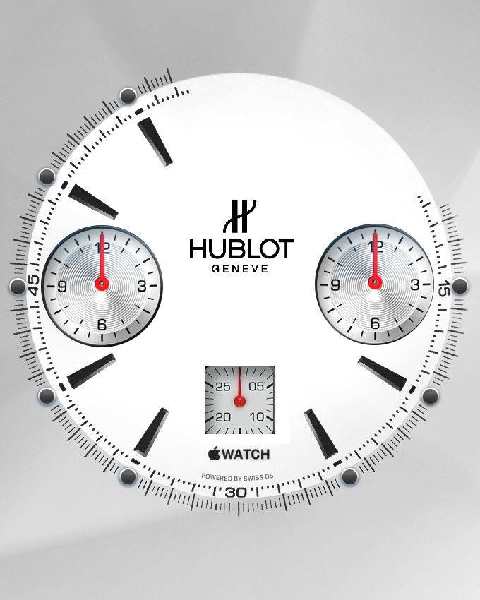 Apple Watch Face - Hublot . chrono | ロレックス、アップルの壁紙、アップルウォッチ